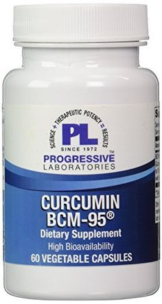Product review for Progressive Labs - Curcumin BCM-95 60 vcaps [Health and Beauty]  - BCM-95 combines only pure curcumin extracts with turmeric essential oils to support enhanced absorption and retention. Dietary curcumin supplement support normal immune