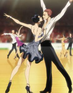 Hyodo and Shizuku 💜 Ballroom e youkoso Ballroom E Youkoso, Ballroom Dance Dresses, Manga Art, Anime Art, Bad Gal, Anime People, Skating Dresses, Anime Comics, Character Illustration
