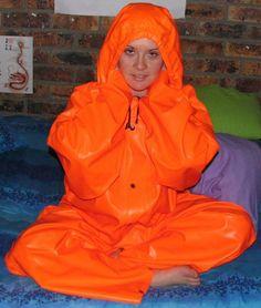 Buy Orange Ocean Rain Overall   Imported from Norway   Really Comfortable (raincoat, rainwear, raingear) for R1,750.00