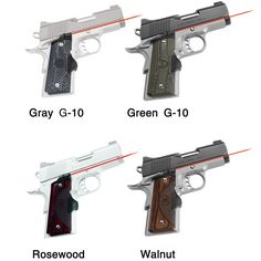 Crimson Trace Master Series Lasergrip for Compact 1911 Pistols Handgun, Firearms, Para Ordnance, Hunting Stores, Wilson Combat, 1911 Pistol, Pistols, Knives, Weapons