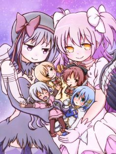 The Goddess, The Demon, & The Magical Girls