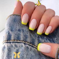 "Manicure Studio⚜️Kharkiv on Instagram: ""Summer, bright and great 😍"" #genial #brillante #Instagram #acrylicnails #valentinesnails<br> Pretty Nail Designs, Colorful Nail Designs, Acrylic Nail Designs, Chic Nail Designs, Elegant Nail Designs, Short Nail Designs, Nail Designs Spring, Pastel Nails, Neon Nails"