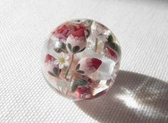 So Delicate Lampwork by Plumerias