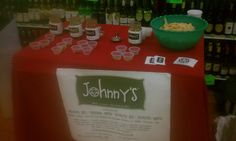 Ideal Grocery & Market Johnny's Salsa Tasting event...