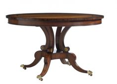 antique french round dining room tables | Kindel Furniture Dining Table & Dining Tables Home Portfolio Ideas ...