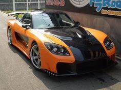 Mazda RX-7 fortune model VeilSide