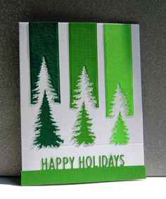IO Evergreen Trees & Holiday Top Word Edgers Dies Clever take on challenge! IO Evergreen Trees & Holiday Top Word Edgers Dies Clever take on challenge! Christmas Card Sayings, Homemade Christmas Cards, Funny Christmas Cards, Christmas Cards To Make, Homemade Cards, Handmade Christmas, Holiday Cards, Christmas Crafts, Cricut Christmas Cards