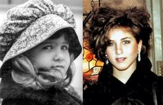 10 Celebrities when they were young JENNIFER ANISTON