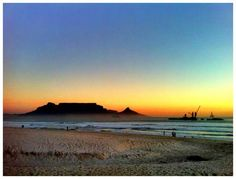 ......Table Mountain from Blouberg beach. A place of great inspiration for MMmend.