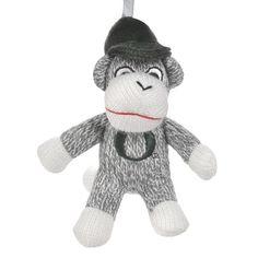Oregon Ducks Sock Monkey Ornament $16.99