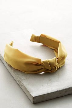 Knotted Chiffon Headband