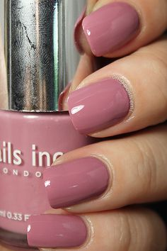Nails Inc. - Bruton Street - my fave shade, goes with everything
