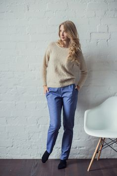 Sweaters & Vests – Cashmere sweater for women / winter sweater – a unique product by ShnopShnop on DaWanda