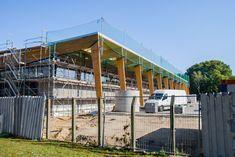 Basdorf, Baustelle Rewe 01 | 27. September 2015