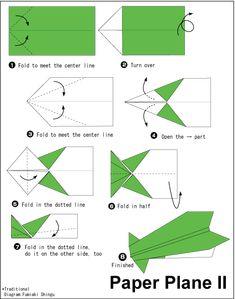Origami-Papierflugzeug 3 Source by crescentcityweb Origami Paper Plane, Origami Envelope, Origami Fish, Diy Origami, Origami Tutorial, Origami Owl Keychain, Origami Owl Jewelry, Paper Airplane Models, Paper Planes