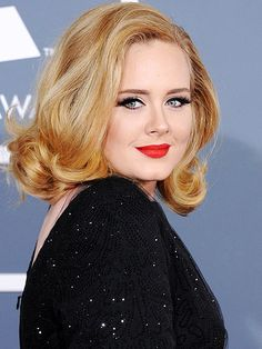 Adele's hair color change from brunette to blonde sparked lots of comment... what do you think of it?