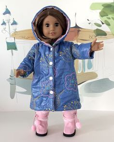 MiloMila Blog: Make your own American Girl Quilted Coat