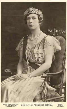 Princess Mary, Countess of Harewood and Viscountess Lascelles (daughter of George V and Queen Mary)