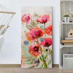 STAMPA-Artistica-Floreale-Fiori-Primavera-flowers-Poster-Su-Carta-o-Tela-Canvas