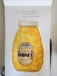 Hee's Food Diary. Lots of beautiful paintings of food.
