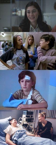 Lizzy Caplan, Rashida Jones, Shia LaBeouf & Leslie Mann had parts in Freaks & Geeks