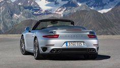 The new Porsche 911 Turbo S Cabriolet