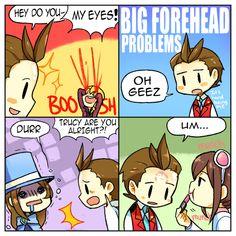 Big Forehead Problems by kata-009