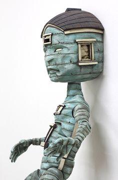 Escultura Calvin