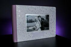 Graphistudio enoblement and raised varnish with die cut crystal glance. Album Design, Book Design, Bespoke Design, Photo Book, Notebooks, Albums, Evans, Crystals, Portrait