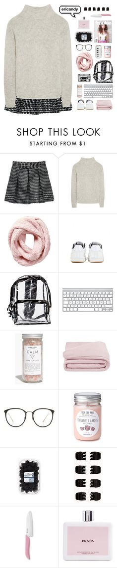 """""""ericandy ☾other acc☽"""" by noellegadia ❤ liked on Polyvore featuring WithChic, Frame Denim, Pure Collection, NIKE, Madewell, Frette, Linda Farrow, Forever 21, Kyocera and Prada"""