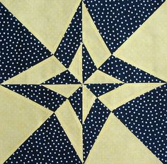 Night and Day Quilt Block