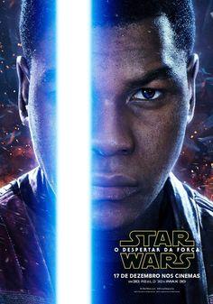 """Personagens de """"Star Wars: Episódio VII - O Despertar da Força"""" ganham pôsteres individuais. Filme estreia no dia 17 de dezembro"""