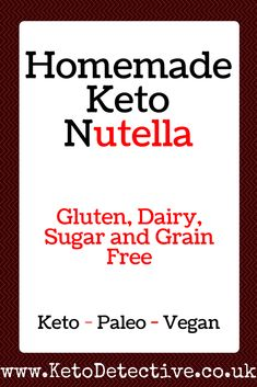 Homemade Keto Nutella | KetoDetective