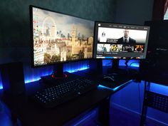 My current gaming setup Slowly put together over the course of 9 months as and when I got paid Still a work in progress.