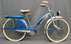 J.C. Higgins girl's balloon bicycle, circa 1953