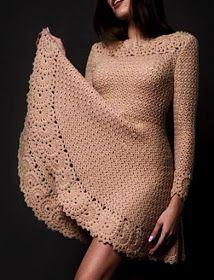 Fabulous Crochet a Little Black Crochet Dress Ideas. Georgeous Crochet a Little Black Crochet Dress Ideas. Crochet Beach Dress, Crochet Summer Dresses, Summer Dress Patterns, Mode Crochet, Diy Crochet, Crochet Baby, Crochet Top, Crochet Books, Crochet Shawl