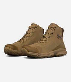 Men's UA SpeedFit Hike Boots, Coyote Brown, zoomed image