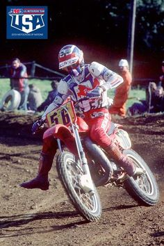 DONNIE HANSEN on the 500 at the Motocross of Nations in Germany