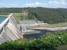 The Dam at Norris Lake 2012