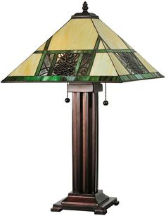 pine cone lamps photo - 8