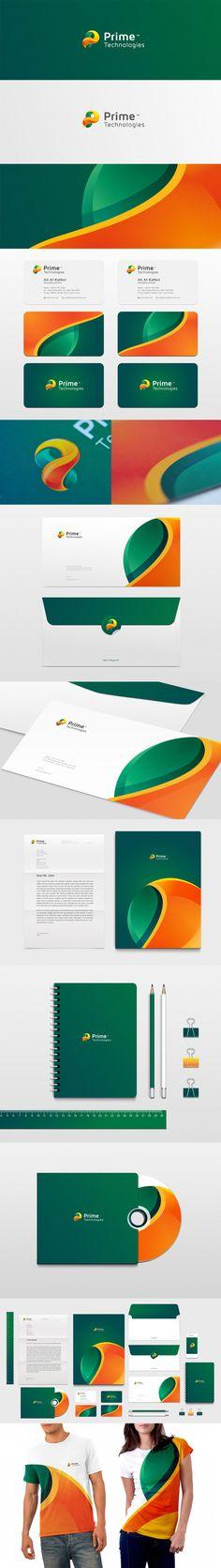 Prime Tech corporate identity #stationary <<< repinned by www.BlickeDeeler.de