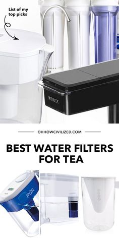 In the market for a nice water filter for tea? You're in the right place! In this post I list the best ones that are very worth the buck. Click to explore! Under Sink Water Filter, Best Water Filter, Hot Tea Recipes, Perfect Cup Of Tea, Tea Sandwiches, Brewing Tea, Best Tea, How To Make Tea