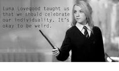 Image result for luna lovegood taught us