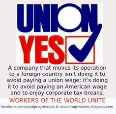 Pay Attention ~~~We need our Unions