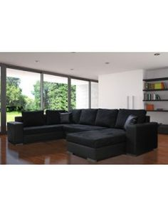 canap angle relax lectrique welton cuir gris f clair angles. Black Bedroom Furniture Sets. Home Design Ideas