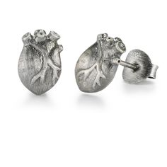 Bjørg jewellery: ANATOMIC HEART earstuds