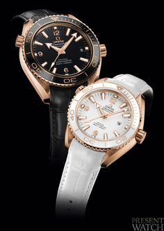 Seamaster Planet Ocean Ceragold by OMEGA