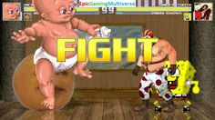 Annoying Orange & Infant Mutant Naughty Baby VS Sweet Tooth & SpongeBob SquarePants In A MUGEN Match This video showcases Gameplay of SpongeBob SquarePants And Sweet Tooth The Killer Clown From The Twisted Metal Series VS Infant Mutant Naughty Baby And The Annoying Orange In A MUGEN Match / Battle / Fight