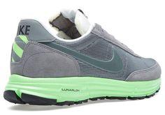 Nike Lunar LDV Low | Mercury Grey & Neon Green