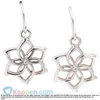 Galadriel bloemen oorringen - Koppen.com